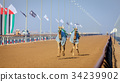 Camel racing in Dubai 34239902