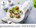 food,escargot,ingredient 34241002