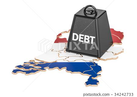 Netherlands national debt or budget deficit 34242733