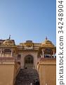 amer fort, indian, world heritage 34248904