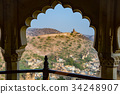 amer fort, indian, world heritage 34248907
