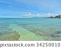 夏威夷 海 大海 34250010