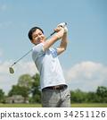 高爾夫 中年人 中年 34251126