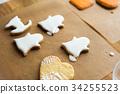 烘焙甜点 曲奇 饼干 34255523