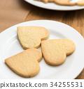 烘焙甜点 心 曲奇 34255531