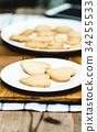 曲奇 饼干 烘焙甜点 34255533