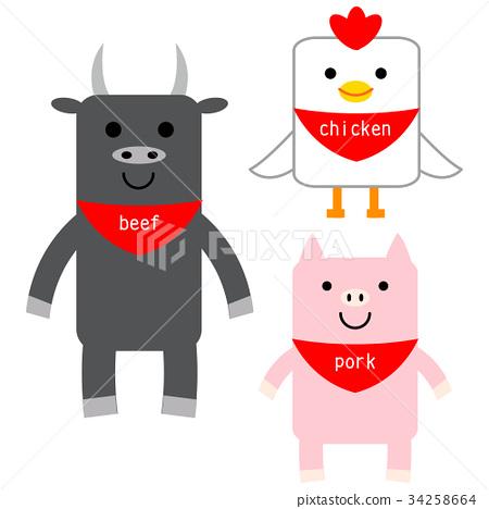 奶牛 牲口 牛 34258664