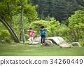 어린이,평강식물원,포천시,경기도 34260449