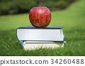 本とリンゴ 34260488