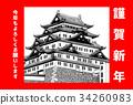 ปราสาทนาโงย่า,ประเทศญี่ปุ่น,นาโงย่า 34260983