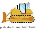 推土機 重型機械 建築機械 34261647