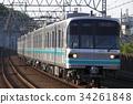 รถไฟใต้ดิน,รถไฟ,ราง 34261848