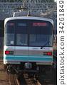 รถไฟใต้ดิน,รถไฟ,ราง 34261849