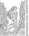 mermaid 34264275