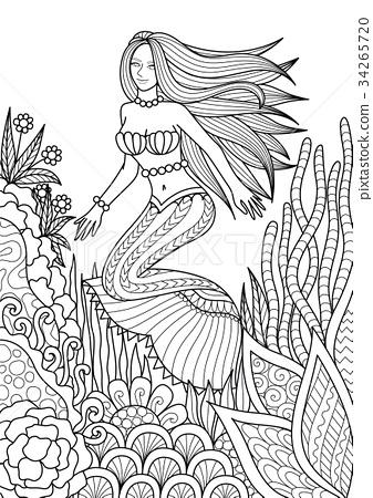 Mermaid 34265720