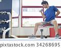 gym male man 34268695