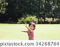 เป่าฟองน้ำ,เด็กผู้ชาย,เด็กอ่อน 34268764