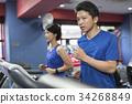 gym, male, man 34268849
