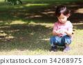 เด็กผู้ชาย,เด็กอ่อน,มีความสุข 34268975