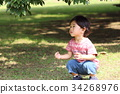 เด็กผู้ชาย,เด็กอ่อน,มีความสุข 34268976