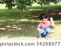 เด็กผู้ชาย,เด็กอ่อน,มีความสุข 34268977