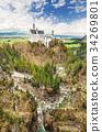 德國 城堡 新天鵝堡 34269801