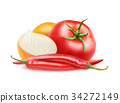 Isolated ketchup ingredients 34272149