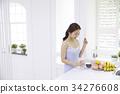 健康 水果 早餐 34276608