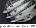 鲭鱼 海产品 鱼 34276998