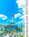 kyoto, kyoto tower, landmark 34277912