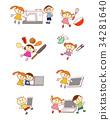 เด็ก,เด็กๆ,พีซี 34281640