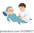 massage, massaging, rubdown 34288657