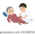 massage, massaging, rubdown 34288659