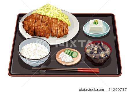 套餐 当日特惠 炸猪排 34290757