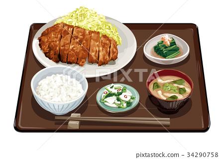 套餐 当日特惠 炸猪排 34290758