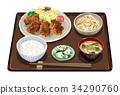套餐 定食 日式定食 34290760