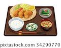 套餐 定食 日式定食 34290770