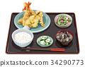 Tempura set meal 2 34290773