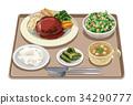套餐 定食 日式定食 34290777