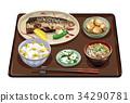 套餐 定食 日式定食 34290781