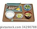 套餐 定食 日式定食 34290788