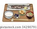 套餐 定食 日式定食 34290791