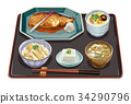 套餐 定食 日式定食 34290796
