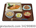 Flatfish set meal 3 34290800