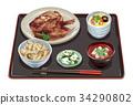 套餐 定食 日式定食 34290802