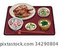 套餐 定食 日式定食 34290804