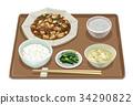 套餐 定食 日式定食 34290822