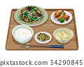 套餐 定食 日式定食 34290845