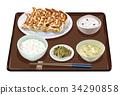 套餐 定食 日式定食 34290858