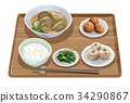 水餃子定食3 34290867